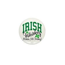 Irish Whiskey Mini Button