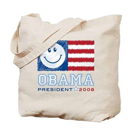 Obama Smiles Tote Bag
