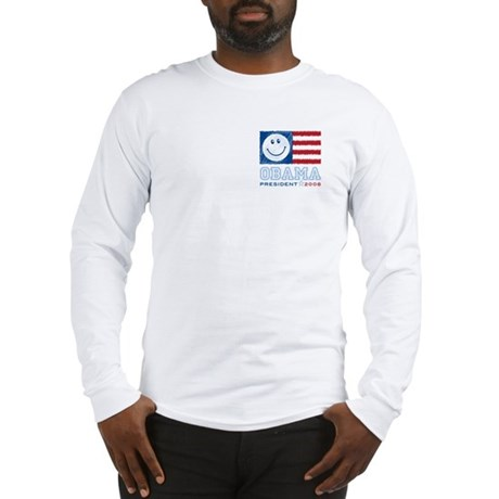 Obama Smiles Long Sleeve T-Shirt