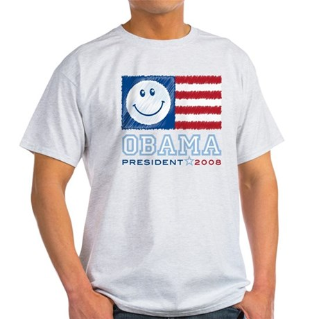 Obama Smiles Light T-Shirt
