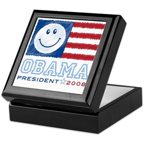 Obama Smiles Keepsake Box