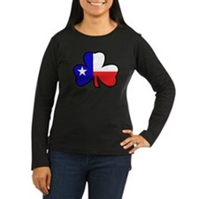 Texas Flag Shamrock Shamrock T-Shirt