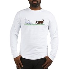 Cardigan Corgi Herding  Long Sleeve T-Shirt