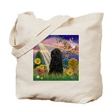 Autumn Star Angel &amp; Puli Tote Bag