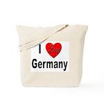 I Love Germany Tote Bag