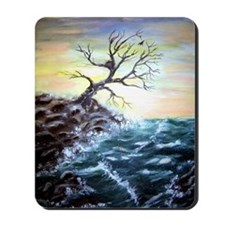 """Coastal Tree"" Mousepad"