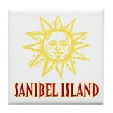 Sanibel Sol - Tile Coaster