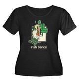 I love Irish Dance Women's Plus Size Scoop Neck Da