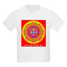 Love Sits Inside Me Mandala T-Shirt