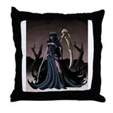 Fem Reaper Throw Pillow