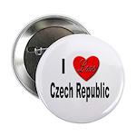 I Love Czech Republic Button