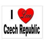 I Love Czech Republic Small Poster