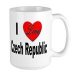 I Love Czech Republic Large Mug