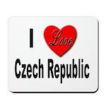 I Love Czech Republic Mousepad