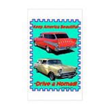 """Drive a Nomad"" Rectangle Decal"