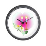 Let There be Peace Wall Clock