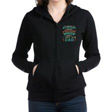 Funny Hung Fitted Hoodie