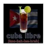 Cuba Libre Tile Coaster