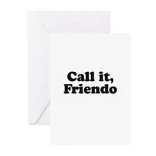 Call it, Friendo Greeting Cards (Pk of 10)
