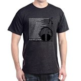 In the beginning... Charcoal T-Shirt