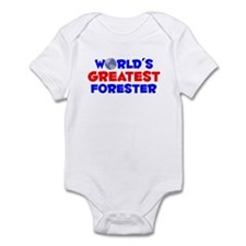 World's Greatest Fores.. (A) Infant Bodysuit