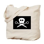 Craft Pirate Scissors Tote Bag