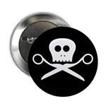 Craft Pirate Scissors Button