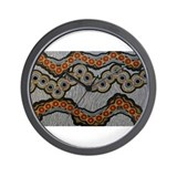 Unique Aboriginal Wall Clock