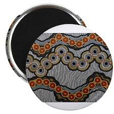 """Unique Aboriginal 2.25"""" Magnet (100 pack)"""