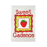 Sweet Cadence Rectangle Magnet