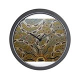 Aboriginal Wall Clock