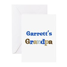 Garrett's Grandpa  Greeting Cards (Pk of 10)