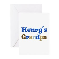 Henry's Grandpa  Greeting Cards (Pk of 10)
