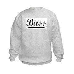 Bass (vintage) Kids Sweatshirt