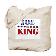 JOE for king Tote Bag