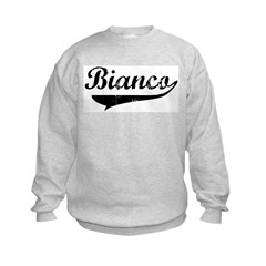 Bianco (vintage) Kids Sweatshirt