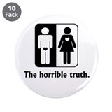 "The Horrible Truth 3.5"" Button (10 pack)"