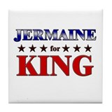 JERMAINE for king Tile Coaster