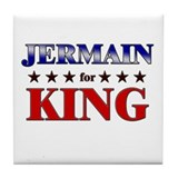 JERMAIN for king Tile Coaster