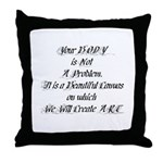Your Body  Throw Pillow