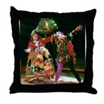 Gypsy and Fool Throw Pillow
