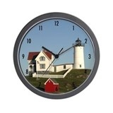 Nubble Lighthouse Wall Clock