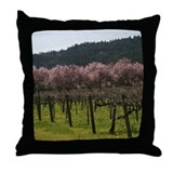 Napa Valley Vines Throw Pillow