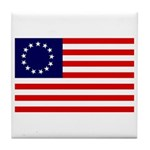 Betsy Ross Flag Coaster