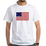 White Betsy Ross Flag T-Shirt