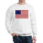 Betsy Ross Flag Sweatshirt