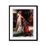 Accolade / Lab (y) Framed Panel Print