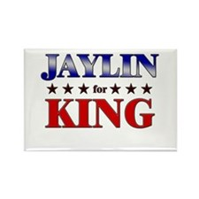 JAYLIN for king Rectangle Magnet