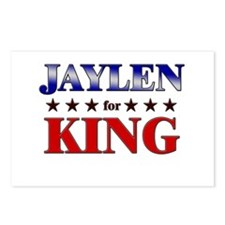 JAYLEN for king Postcards (Package of 8)