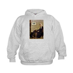 Mom's Chocolate Lab Kids Hoodie